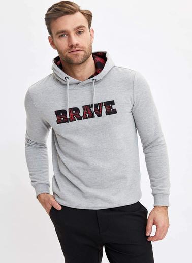 DeFacto Sweatshirt Gri